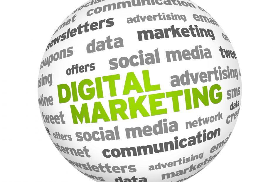 Digital marketing sphere